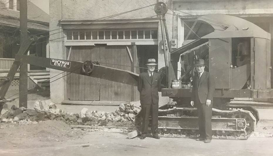 The Founders Of Thompson Arthur Paving & Construction